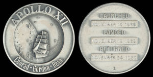 Apollo 12 medallion from wikimedia